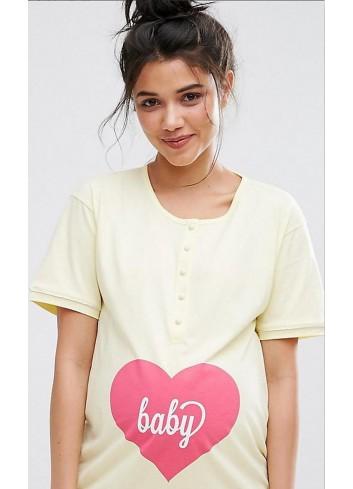 Nočná košeľa na dojčenie Emma