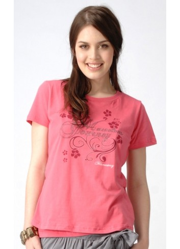 GIZELLE bavlněné kojící tričko Rose