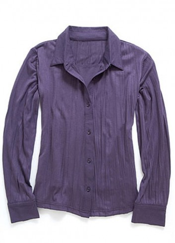 LINDA breastfeeding blouse purple